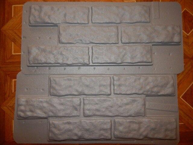 Pz plastica stampi per intonaco di cemento pietra muro di