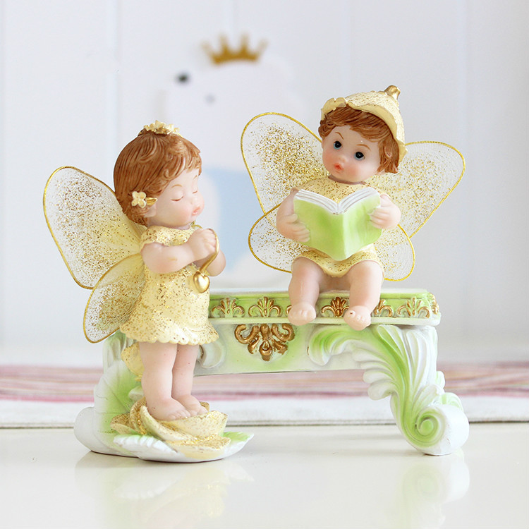 Inventive Reward Angel Ornaments Residence Decor Flower Inventive swing cute angel wine cupboard residence furnishings Collectible figurines & Miniatures, Low-cost Collectible figurines & Miniatures, Inventive Reward Angel Ornaments Residence...
