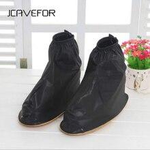 Высококачественная водонепроницаемая обувь для дождливой погоды; мужские резиновые сапоги на плоской нескользящей подошве