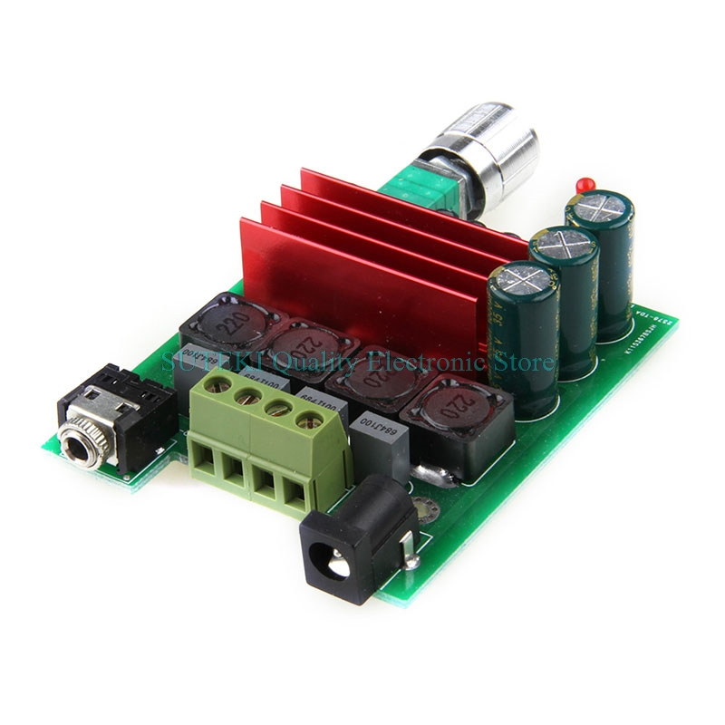 цены на Free Shipping HIFI 2.0 TPA3116 D2 50W+50W Audio Power Amplifier Digital Completed Board High Quality в интернет-магазинах