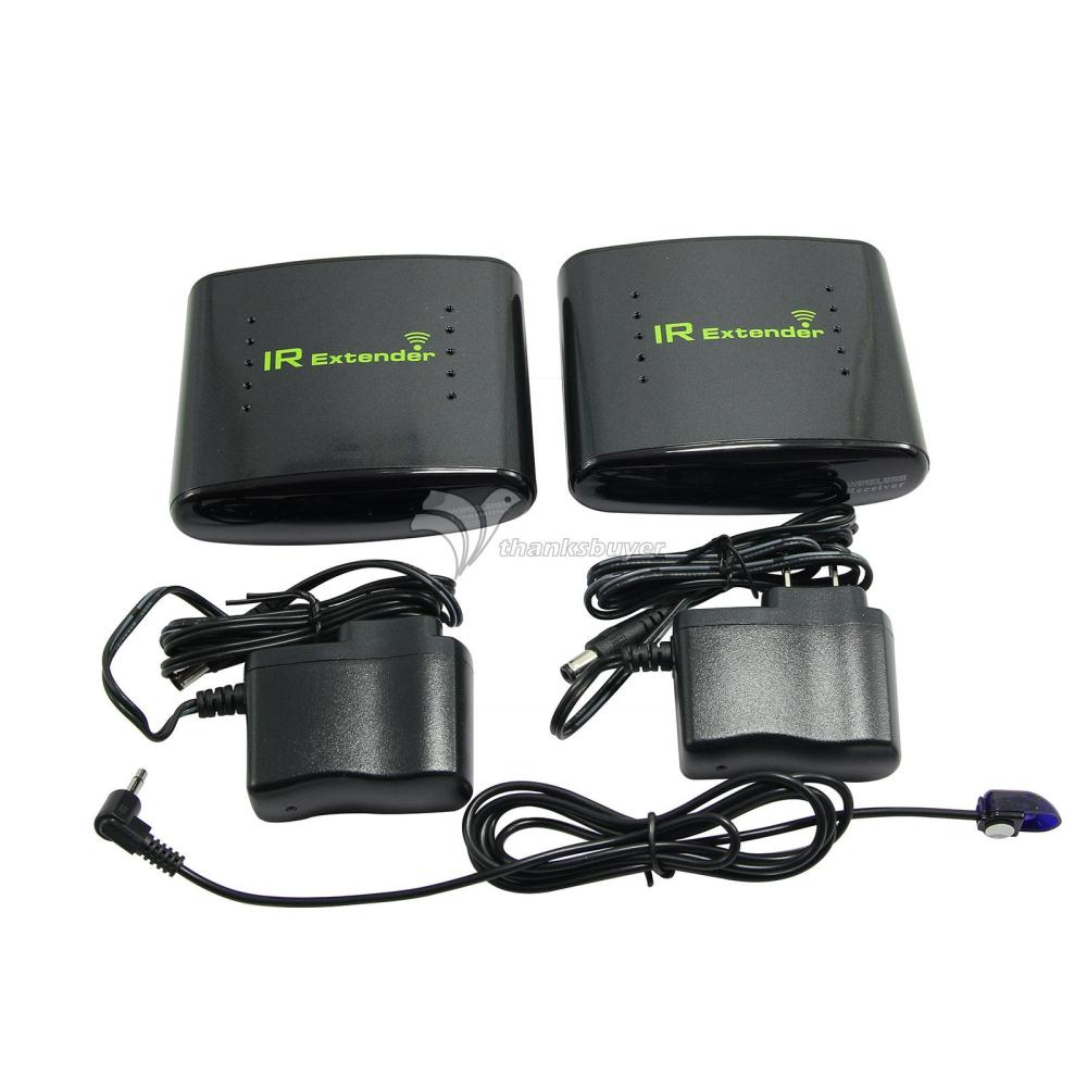 PAT 433 Wireless IR Remote Extender Infrared Repeater Transmitter Receiver Set for DVR IPTV Satellite STB