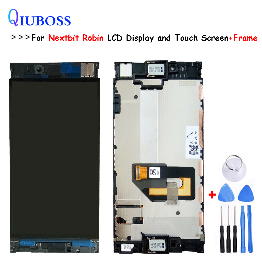 For 5.2 inch Nextbit Robin LCD Display+Touch Screen With Frame 100% Tested Screen Digitizer Assembly Replacement