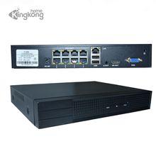 KingKongHome 4CH/8CH 1080 В P 48 В 802.3af POE NVR комплект системы видеонаблюдения P2P ONVIF сети видео регистраторы Full HD 2.0MP для POE IP камера