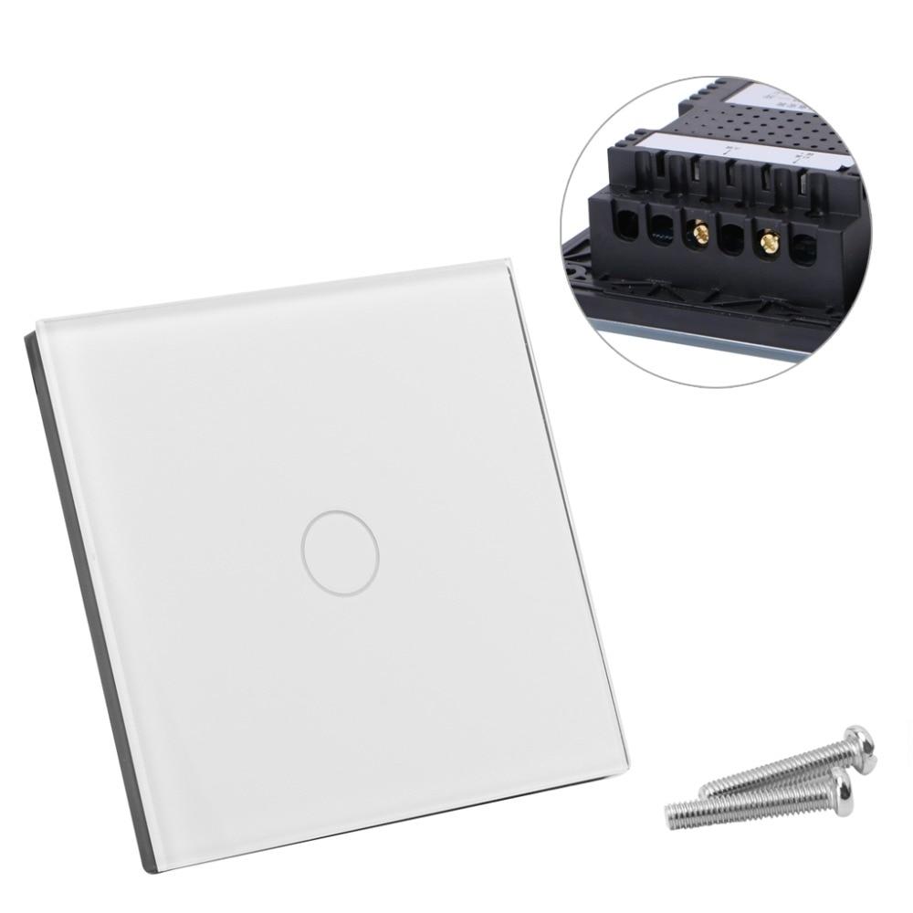 Kristallglas verkleidung Smart Touch Wand Lichtschalter 1/2/3 Gang 1 ...