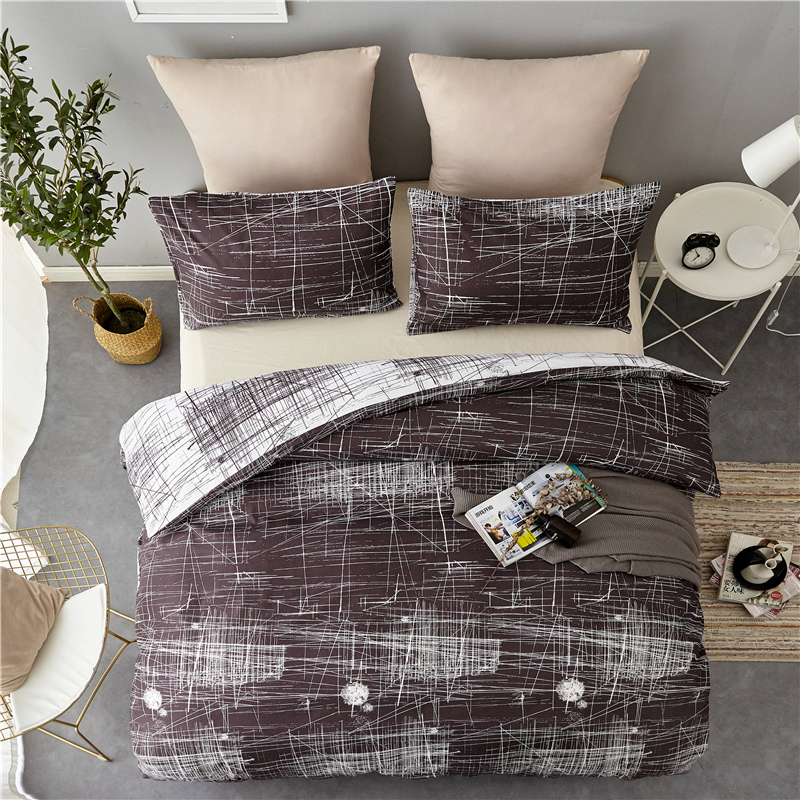 2Pcs/3Pcs Vintage Style Comforter Bedding Sets with Pillowcases Duvet Covers Home Textile Twin/Full/Queen/King Size for Bedroom