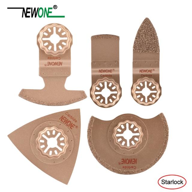 Starlock Newone One-piece Carbide lâmina de Serra Lâmina de Serra Multi Ferramenta Oscilante Lâminas apto para Bosch e Fein starlock multi-ferramentas