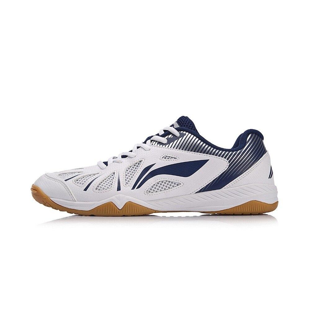 Li-Ning/Мужская обувь для настольного тенниса, спортивная обувь с подкладкой, спортивная обувь, кроссовки APTM003 YXT020