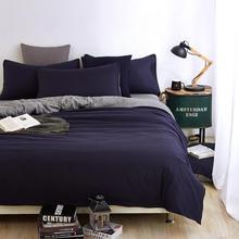 Gris de color caqui de moda full twin queen size funda nórdica juego de cama de poliéster sábana adultos/funda de almohada ropa de cama de textiles para el hogar 4 unids