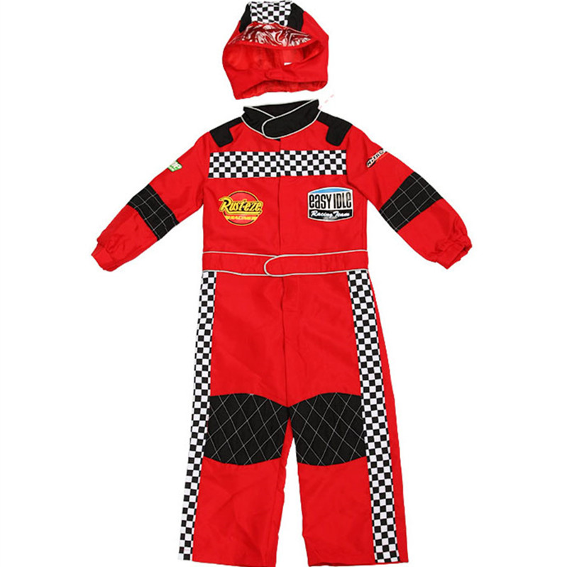 Imported From Abroad Kids Jumpsuit Costume Cosplay Costume Red White Color Christmas Clothes Fancy Dress Christmas&halloween Party For Boys In Short Supply Clothing Sets
