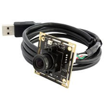 720P 1.0 megapixel HD OV9712 CMOS Audio mic usb cable camera module H.264 with 6mm lens