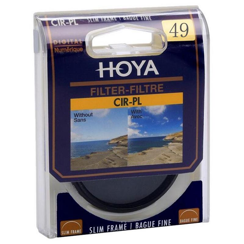 Prix pour 49 mm Hoya numérique CPL filtre polarisant lentille professionnelle protecteur que Kenko B + W Andoer CPL