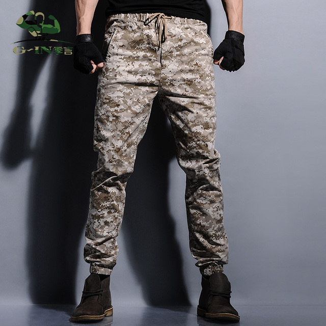 wide selection of designs usa cheap sale shop for genuine mens joggers camouflage men pants military jogger pants chinos men  sweatpants hip hop joggers streetwear camo cargo pants-in Cargo Pants from  Men's ...