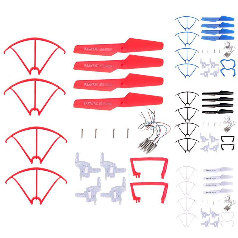 Syma x5c x5 explorers 6 assi 4ch rc ufo quadcopter elicottero ricambi set completo replacements accessori