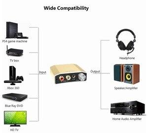 Image 4 - Reiyin DAC 192kHz 24bit Optical Coaxial Audio Converter for HD TV DVD XBOX PS4 Game console