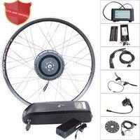 48v 500w electric bike kit 52v14a samsung lithium battery electric bicycle conversion kit 48v motor wheel for e bike kit