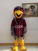 Талисман талисмана hawk eagle сокол костюм талисмана обычай необычные костюмы аниме косплей mascotte тема маскарадные костюмы