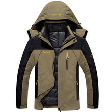 купить Ski Jacket Men Waterproof Snowboard Jacket Thermal Coat For Mens Winter Outdoor Mountain Skiing Snow Jackets Plus Size Brand по цене 3431.8 рублей