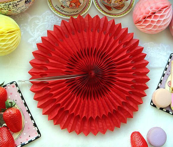 New 5pcs Tissue Paper Fan Diy Crafts Hanging Wedding: Popular Fan Pom Poms-Buy Cheap Fan Pom Poms Lots From