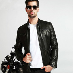 2016 male 100 genuine plus size leather jacket real natural suede skin men fashion zipper short.jpg 250x250