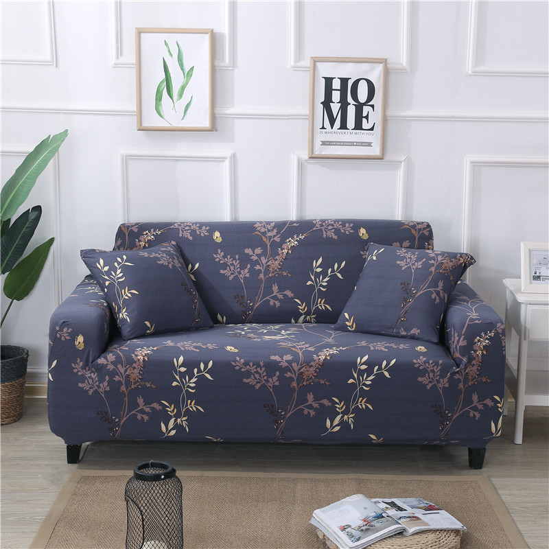 Universal Stretch Sectional Sofa Covers For Living Room