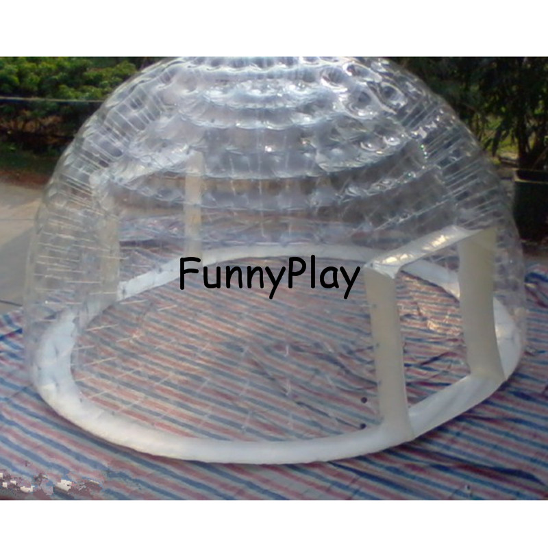 outdoor airtight camping tent with 2 door clear bubble house for hotel,travel camping rental,Family Camping Backyard Advertising