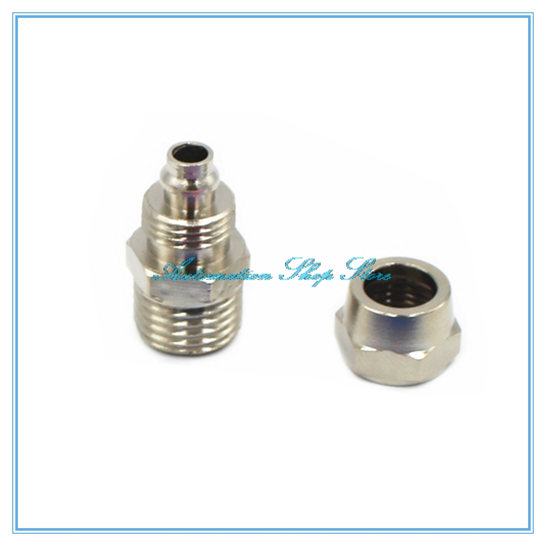 Pneumatic fast twist fittings mm pipe to m