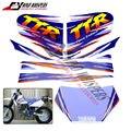 Бесплатная доставка Мотоцикла Полный Графический Комплект Байк Наклейки Топлива бака Наклейка Бензобак Переводные Картинки Для TTR250 TTR 250 TT-R 250