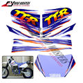 El envío libre de La Motocicleta Dirt Bike Kit de Combustible Etiqueta Gráfico Completa Tank Decal Del Tanque de Gas Tatuajes Para TTR250 TTR 250 TT-R 250