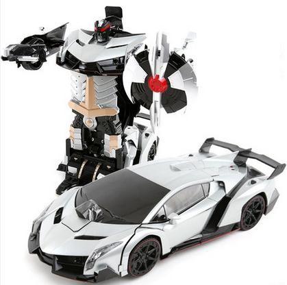 control remoto rc robots coche deportivo juguetes rc modelo de robot deformacin control remoto