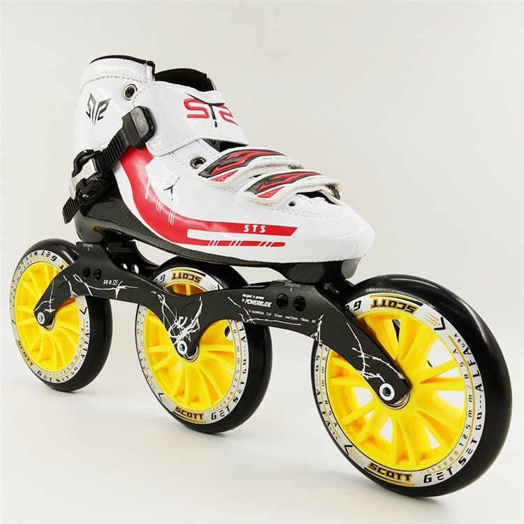 inline speed skating shoes Carbon fiber professional inline roller skates inline duo 7квт киев