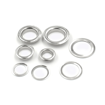 ( 100 pieces/lot) 8mm-14mm Inner diameter Metal hole  Clothing & Accessories. corn. Eyelets. Ring. rivet . snaps