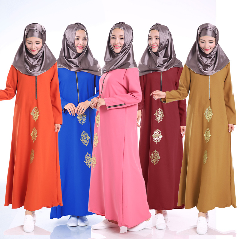 2016 Fashion Abaya Muslim Girl Long Dress Turkish Women Clothing Burqa Dubai Arab Djellaba