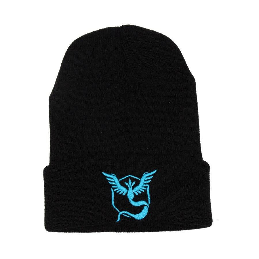 Gorro Touca Com Símbolo Times Pokémon Go Equipe Azul Mystic