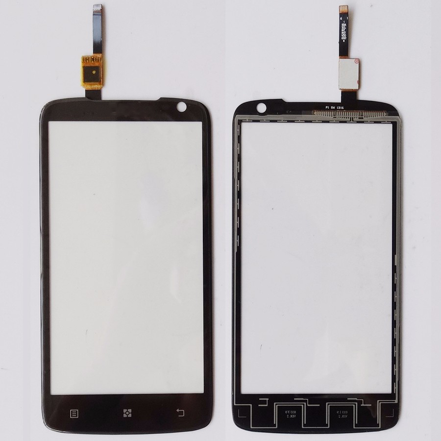 Ponsel Layar Sentuh Sensor untuk Lenovo S820 Sentuh Layar Digitizer Hitam (Bebas + 3 M Tape + Pembukaan alat Perbaikan + Lem)