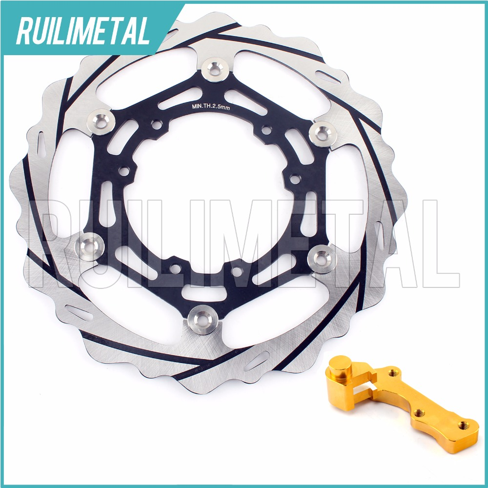 270mm oversize Front Brake Disc Rotor Bracket Adaptor for HONDA CR 125 R E CRF 250 450 X 04 05 06 07 08 09 10 11 12 13 14 15 fit for rm 125 00 09 rm250 00 01 02 03 04 05 06 07 08 09 10 11 12 front rear brake disc rotor bracket bracket oversize 320mm
