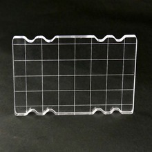 High transparency Acrylic stamp block for DIY Scrapbooking Clear stamps scrapbook photo album Decorative card making