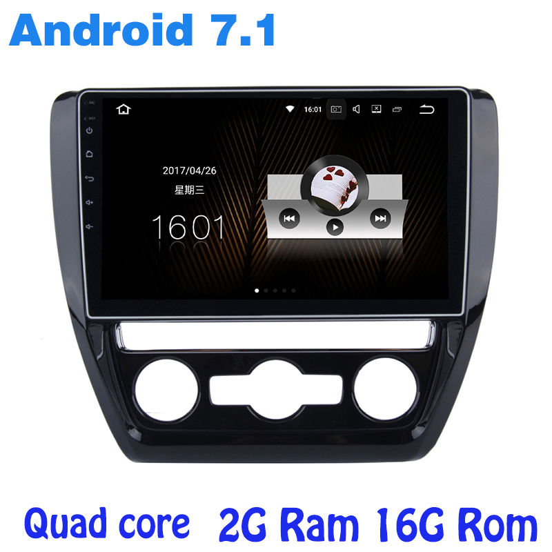 Quad core Android 7 1 car font b radio b font gps for vw Jetta 2011