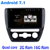 Quad Core Android 7 1 Car Radio Gps For Vw Jetta 2011 2015 With 2G RAM