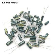 """50 יח\חבילה 4.7 UF 50 V 105C 5X11 מ""""מ אלומיניום אלקטרוליטי קבלים 50V4. 7 UF רדיאלי עופרת 50 יחידות"""