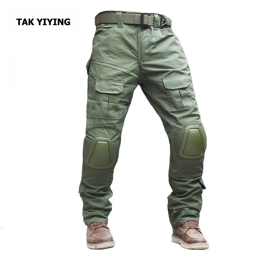 Prix pour TAK YIYING alpinisme pantalon hommes zipper camping randonnée pantalon En Plein Air Chasse Pantalon Avec Genouillères Noir