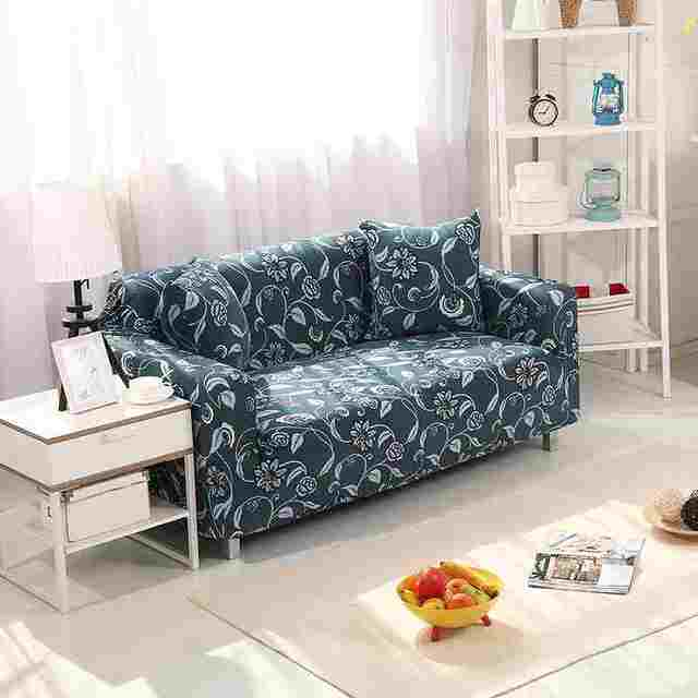 Europe Design Anti-skid Couch case Single/Double/Three/Four Seat Printed  Sofa Cover All-inclusive Stretch Elasticity Slipcovers