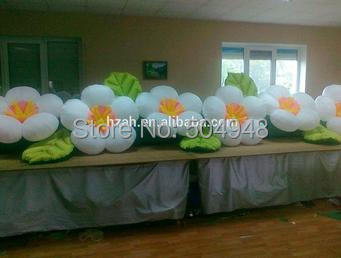 Wedding Inflatable Decoration Flower Inflatable Apple Blossom new design wedding inflatable flower arch with leaves