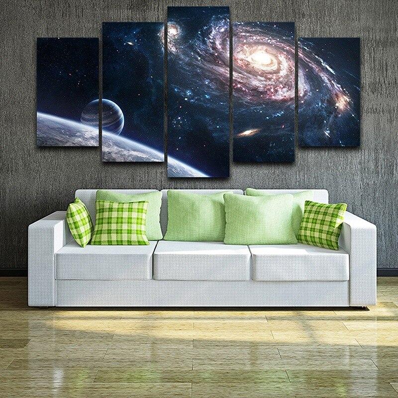 Künstlerische Leinwanddruck Malerei HD Gedruckt Zeichnung Weltraum Gerahmte Spray Malerei raum wand-dekor Schlafzimmer kunst auf AE0039