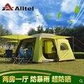 Alltel  1 спальня  1 гостиная  сверхпрочный водонепроницаемый тент для вождения автомобиля  палатка для вечеринки  семейный уличный тент для кем...