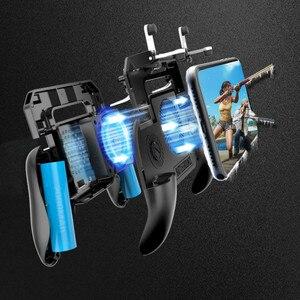 Image 5 - Pubg Controller Radiator Gamepads Telefoon Gamepad Mobiele Trigger L1R1 Shooter Joystick Game Pad Houder Koeler Ventilator Met Power Bank