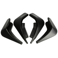4PCS Car Mud Flap Splash Mudguard Front Rear Guard Set for Ford Fiesta
