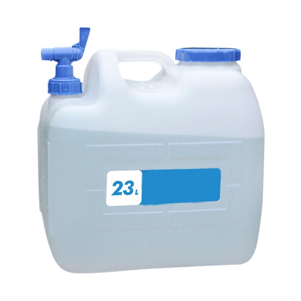 Открытый 23L портативный ведро для воды пищевой резервуар для воды походный Кемпинг бытовой прибор контейнер для воды с краном