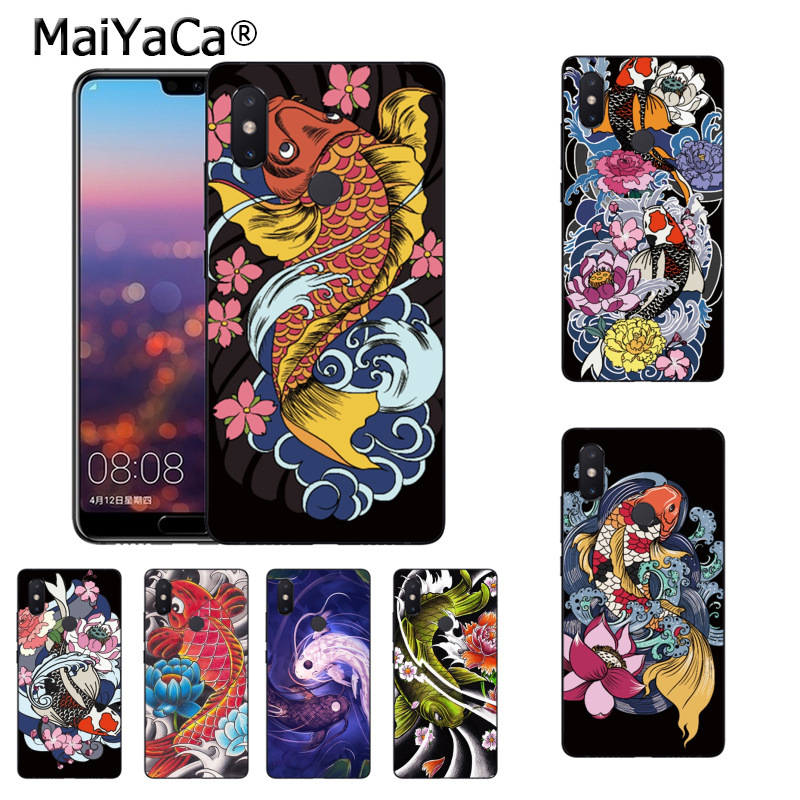 Fitted Cases Phone Bags & Cases Latest Collection Of Maiyaca Koi Carp Japanese Fish Case For Xiaomi Redmi S2 6 6a 6pro 4x Note 5 Pro 5a 7 Mi 8 9 6x A2 Mix 2s Max 2 3 F1