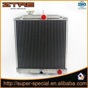 Honda civic/del sol/integra eg 92-00 자동 레이싱 알루미늄 라디에이터 용 고성능 3-roms 52mm 알루미늄 자동차 라디에이터