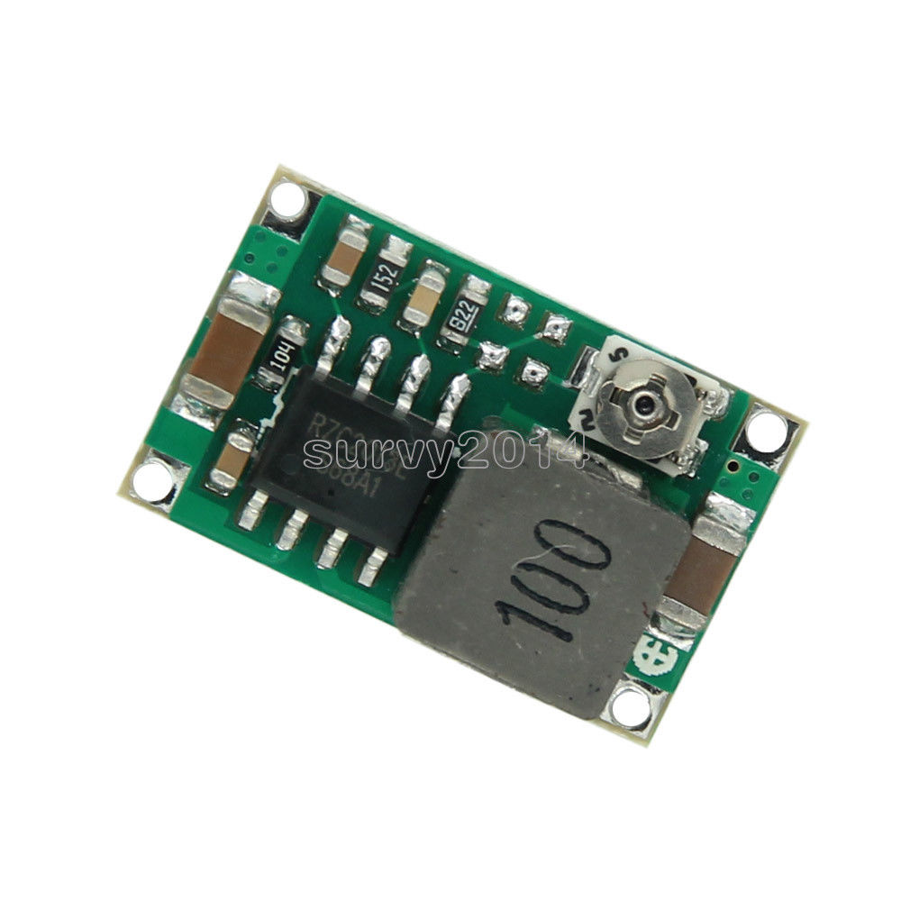 DC-DC Mini 360 3A Step Down Adjustable Power Supply Module Replace LM2596S For Flight Control DC 4.75V-23V To 1.0V-17VDC-DC Mini 360 3A Step Down Adjustable Power Supply Module Replace LM2596S For Flight Control DC 4.75V-23V To 1.0V-17V
